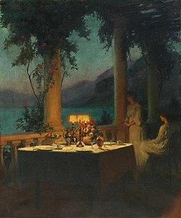 Rêverie au bord du lac d'Annecy