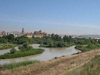 Andalusia - The Guadalquivir as it passes through Córdoba.