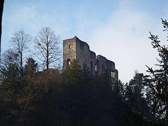 Bad Reichenhall - Image: REI Ruine Karlstein 06