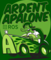 The logo for the ROS2 release Ardent Apalone.