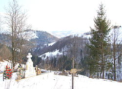 Apuseni Mountains near Arieșeni, Alba County