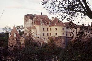 Burg Raabs, Ansicht von Norden