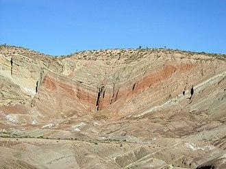 Syncline - Image: Rainbow Basin