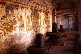Thanjavur painting - Nayaka period paintings in the Peruvudaiyar Koil
