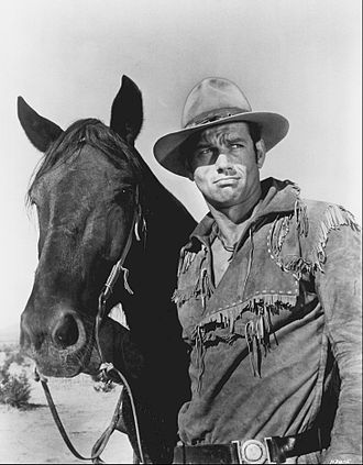 Ralph Taeger - Taeger at the age of thirty-one as Hondo Lane (1967)