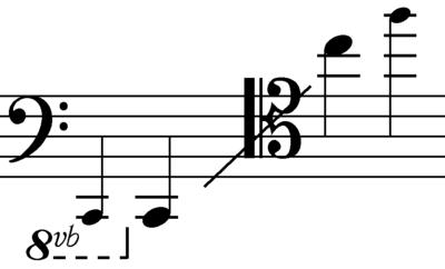 Contrabass Trombone Range Range of a Trombone