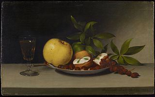 Still Life with Fruit, Cakes and Wine