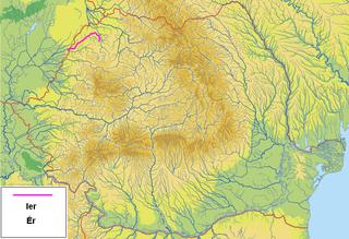 Ier river in Romania