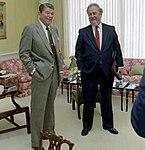 Reagan with Robert Bork 1987 (cropped).jpg