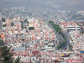 Tultitlán de Mariano Escobedo - View from Sierra de Guadalupe