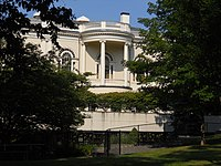 Rear View Peabody Institute Library Danvers August 2012.JPG