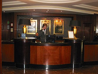 London Hilton on Park Lane - Image: Reception, London Hilton on Park Lane