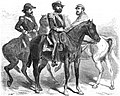 Recontre des généraux Florès, Mitre et du maréchal Lopez. - D'aprés un dessin de M. Meyer.jpg