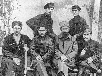 Dmitry Zhloba - Dmitry Zhloba, sitting on the left