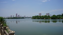 Red Star Lake, Qinglongshan Park.jpg