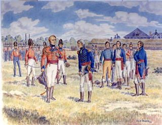 early engagement in the Anglo-American War of 1812