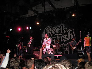 Reel big fish monkey man single