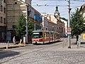 Reko TT Anděl - Sídliště Řepy, Anděl, linka 9 v odklonu.jpg