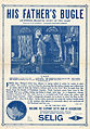 Release flier for HIS FATHER'S BUGLE, 1912.jpg