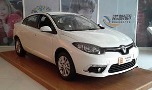 Renault Fluence - Renault Fluence facelift (China)