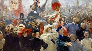 Iliá Repin, 17 de octubre de 1905.