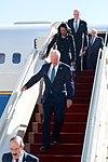 Representative Engel, Former Secretaries Baker, Rice, Former NSC Adviser Scowcroft Disembark From U.S. Air Force Jet Upon Arrival in Riyadh.jpg