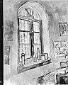 Reproductie van een schilderij uit Saint-Remy van Van Gogh, Bestanddeelnr 252-1893.jpg