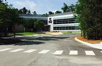 Research Triangle High School - Image: Research Triangle HS 2016