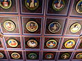 Restored ceiling of the King's Chamber, Stirling Castle.jpg