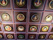 Restored ceiling of the King's Chamber, Stirling Castle