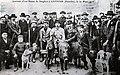 Retour de chasse aux sangliers Lanmeur 1910.jpg