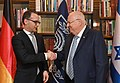 Reuven Rivlin at a meeting with Heiko Maas, March 2018 (6381).jpg