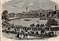 Review at the Crystal Palace of Cadets attached to Metropolitan and Suburban Volunteer Corps - ILN 1861.jpg