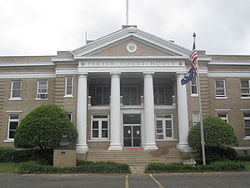 West Carroll Parish Courthouse in Oak Grove