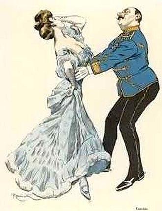 """Ferdinand von Řezníček - Ferdinand von Řezníček, """"Csárdás Dancer"""". Simplicissimus. 1906"""