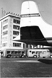 Aeropuerto de Fráncfort del Meno (1950-1972)