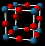 Struktur von Rhenium(VI)-oxid
