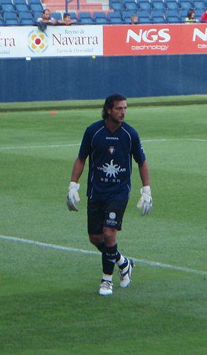 Ricardo (footballer, born 1971) - Ricardo playing for Osasuna in 2008