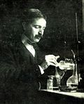 Theodore Richards en el laboratorio