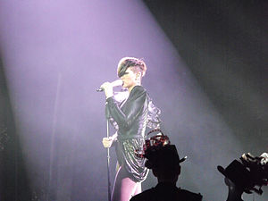 Unfaithful (song) - Image: Rihanna in Last Girl on Earth Tour 10 05 6