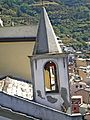 Riomaggiore 383-San rocco-bell tower from the castle.jpg
