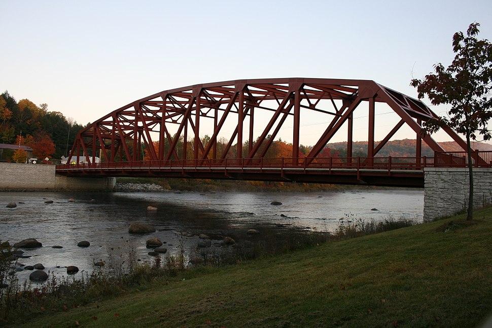 Riparius Bridge from Chester shore