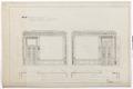 Ritning stora salongen, Hallwylska palatset - Hallwylska museet - 102163.tif