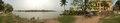 River Bhagirathi - Yellow Zurud Masjid - Hazarduari Palace - 360 Degree View - Nizamat Fort Campus - Murshidabad 2017-03-28 6468-6480.tif