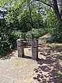 River Ching footpath 01, South Chingford, Waltham Forest, London, England.jpg