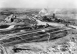 Ford River Rouge Complex - Aerial view of the Rouge Complex in 1927