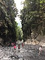 River flows through narrow canyon near Wujie.jpg