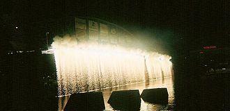 WEBN - Image: Riverfest Waterfall