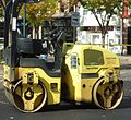 Road paving vehicle for smoothing in New Jersey 2.JPG