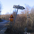 Road sign - Perka, Istria, Croatia.jpg